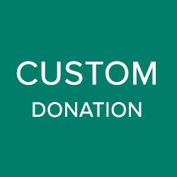 Custom Dinner Donation
